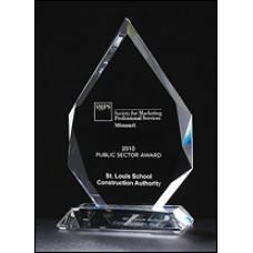 Flame Series Optical Crystal Award